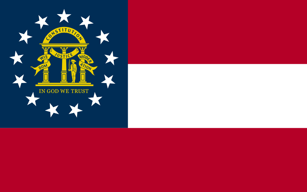 flag of Georgia1