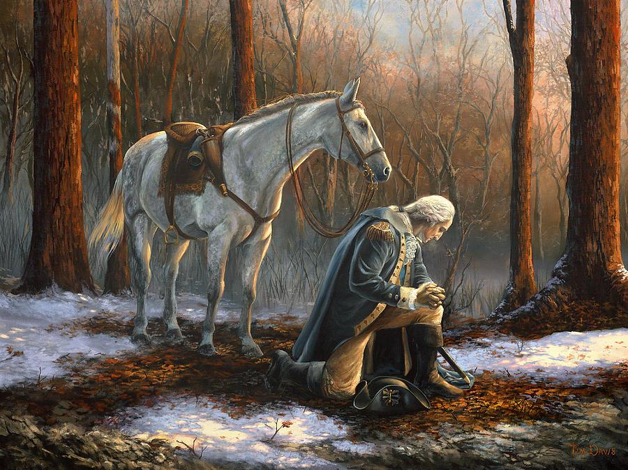 George Washington by Tim Davis