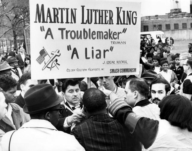 Civil Rights Confrontation